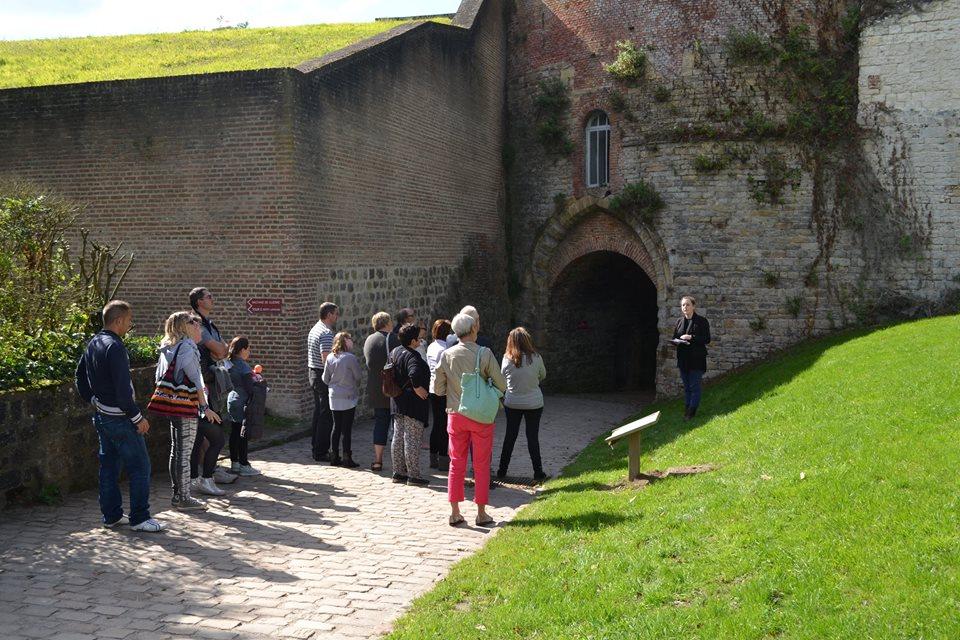 Visite guidée de la Citadelle.